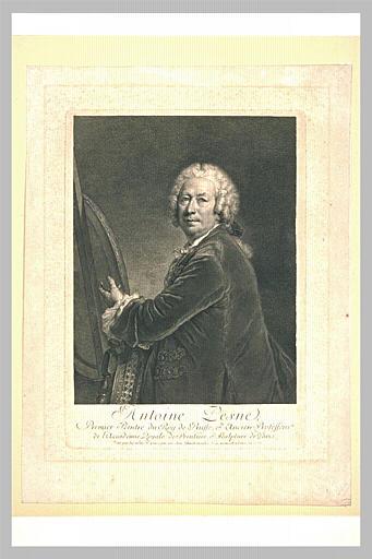 Portrait du peintre Pesne