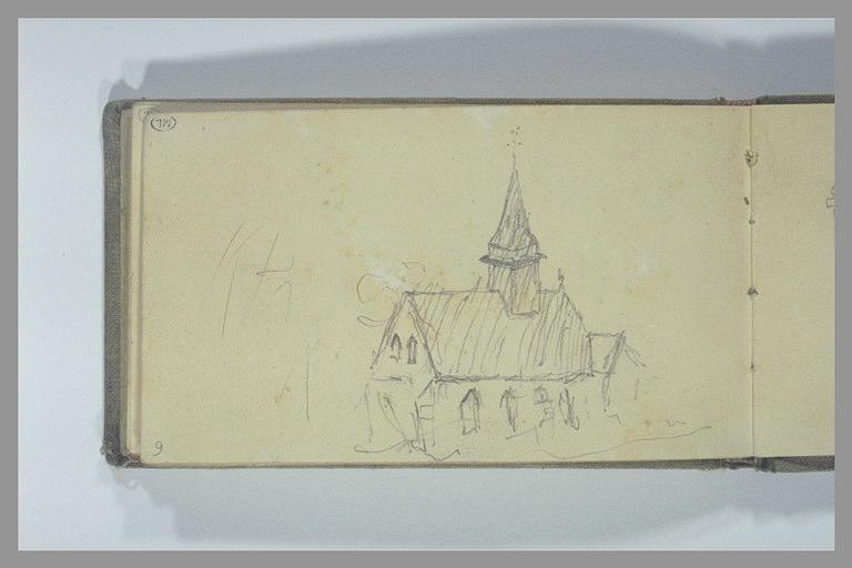 POMPON François : Petite église
