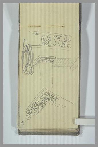 POMPON François : Etudes de motifs décoratifs