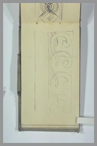 Etude de motif décoratif
