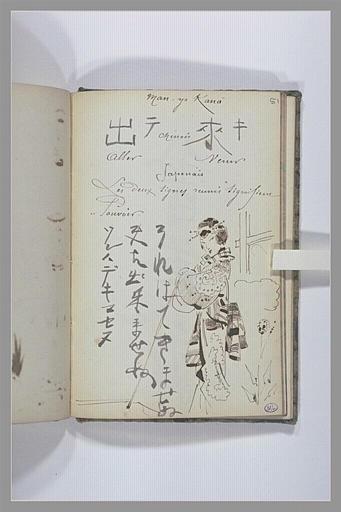 Page de grammaire japonais : man-yo kana
