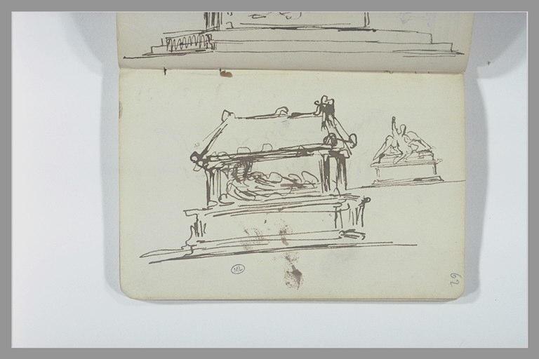 CHAPU Henri Michel Antoine : Projets d'un monument funéraire