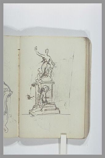 CHAPU Henri Michel Antoine : Projet d'un monument funéraire