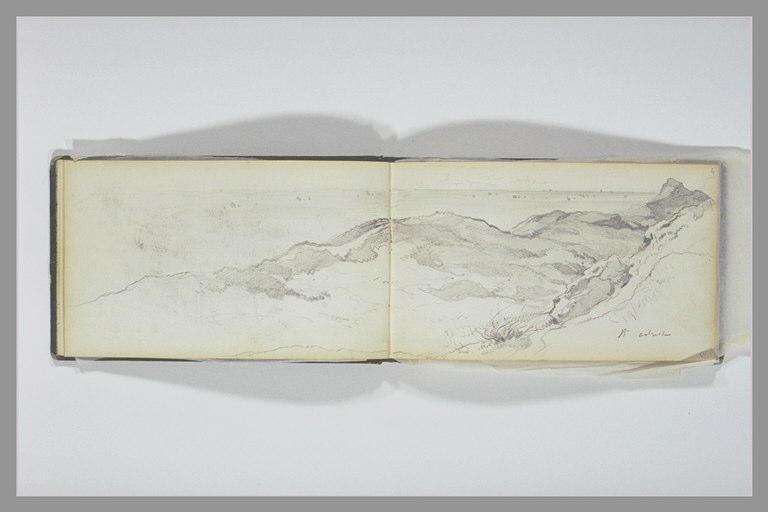 ISABEY Eugène : Horizon marin vu de la côte