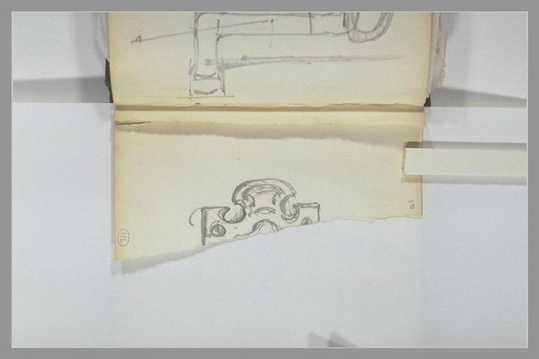 Fragment d'un cartouche décoratif_0