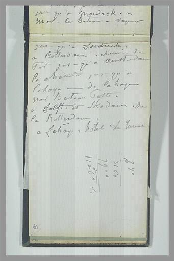 ISABEY Eugène : Itinéraire manuscrit, multiplication