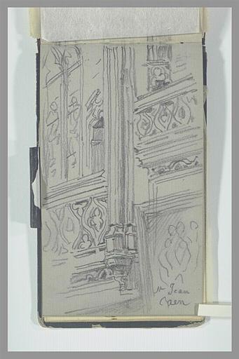Fenêtres hautes de l'église Saint-Jean, à Caen