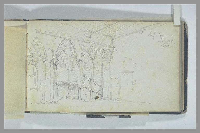 Réfectoire d'un édifice gothique, à Dinan_0