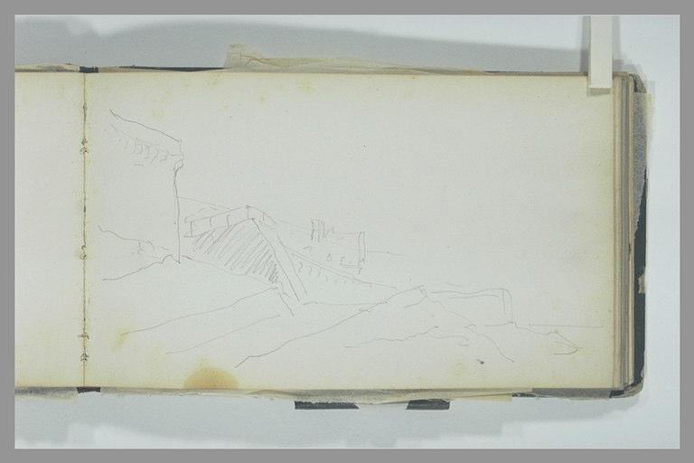 ISABEY Eugène : Remparts (de Saint-Malo ?)