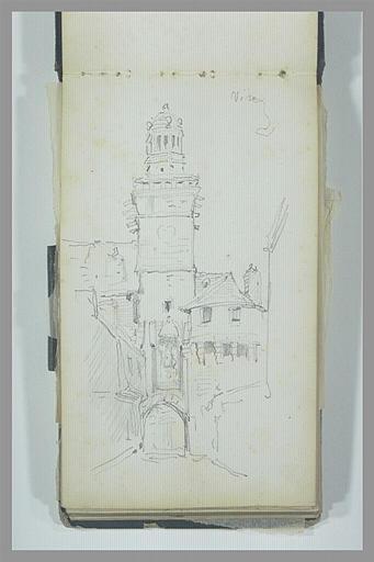 Vue de la Tour de l'Horloge, à Vire
