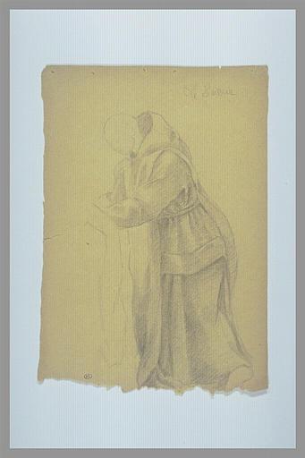 Saint Bruno donnant l'habit religieux_0