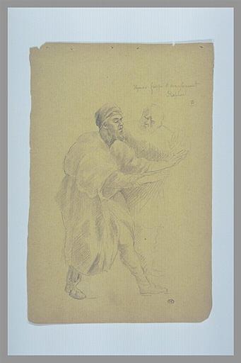DEGAS Edgar, SANTI Raffaello (inspiré par), RAPHAEL (dit, inspiré par) : Aveuglement d'Elymas