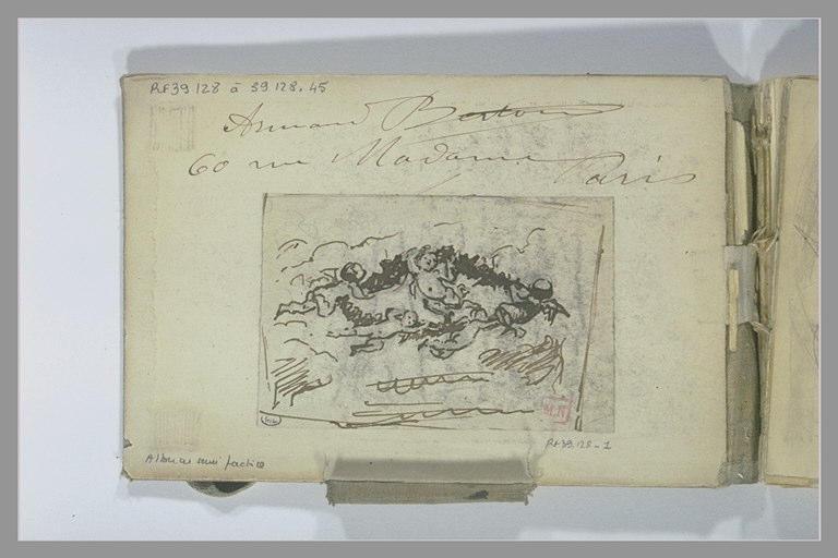 Inscription : Armand Berton 60 rue Madame Paris