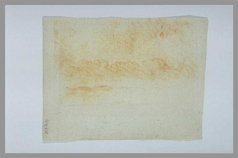 anonyme : Paysage