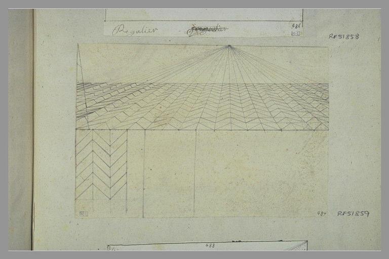 Croquis géométrique en perspective_0