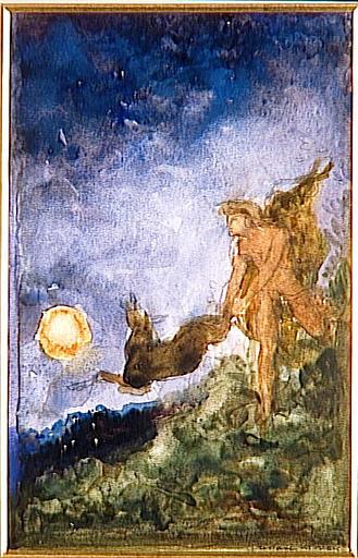 Hercule et la biche aux pieds d'airain_0