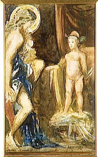 Mercure et Apollon