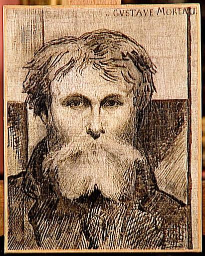 Portrait de Gustave Moreau par lui-même_0