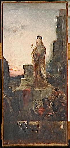Hélène sur les remparts de Troie
