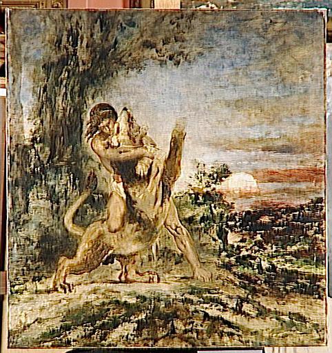 Hercule et le Lion de Némée_0