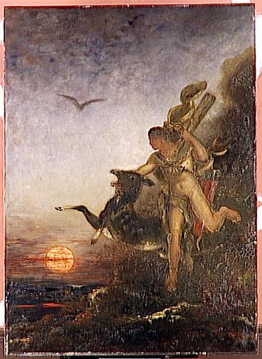 Hercule et la Biche aux pieds d'airain