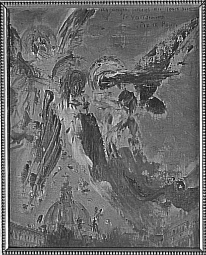 Des anges jettent des fleurs sur le Vatican_0