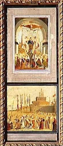 La glorification de Sainte Ursule de la légende de Sainte Ursule, copie d'après Carpaccio