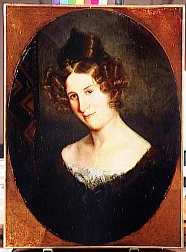 Portrait de Pauline Moreau, mère de l'artiste_0
