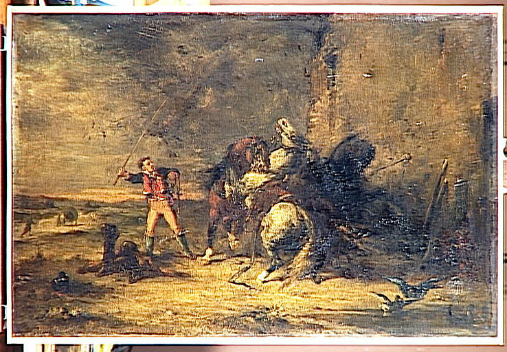 Postillon et chevaux_0