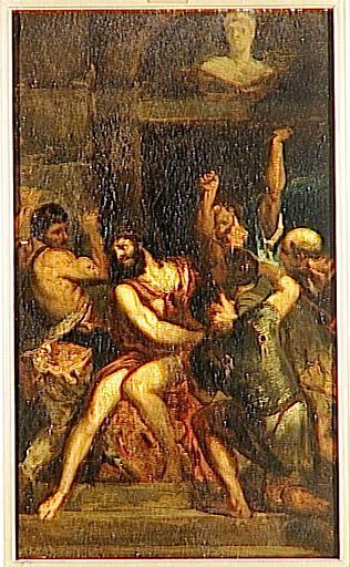 Le Couronnement d'épines, copie d'après Titien