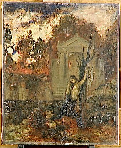 Orphée sur la tombe d'Eurydice_0