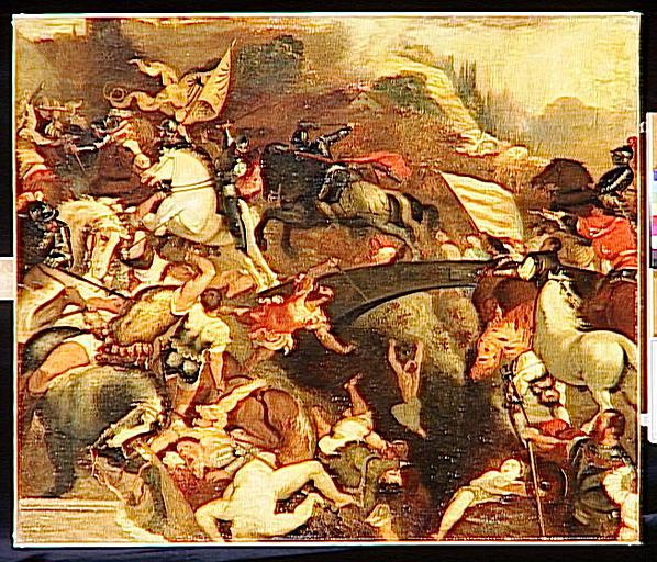 La bataille de Cadore, copie d'après Le Titien_0