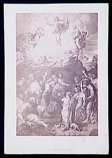 Reproduction du tableau de Raphaël, La Transfiguration_0