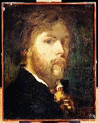 portrait de Gustave Moreau par lui-même