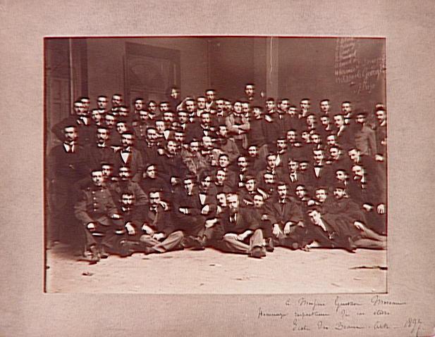 L'Atelier de Gustave Moreau à l'Ecole des Beaux-Arts en décembre 1897_0