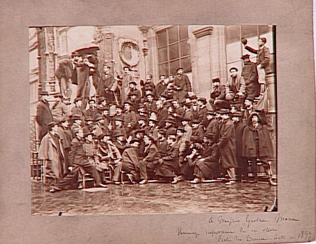 L'Atelier de Gustave Moreau à l'Ecole des Beaux-Arts en 1897_0