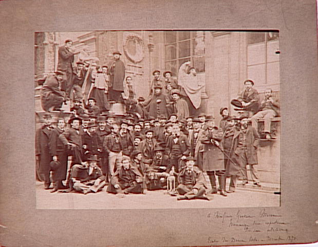 L'Atelier de Gustave Moreau à l'Ecole des Beaux-Arts en décembre 1896_0