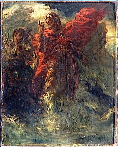 Le Roi Canut et ses courtisans