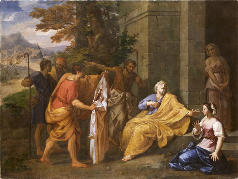 Les frères de Joseph apportent à Jacob la tunique_0