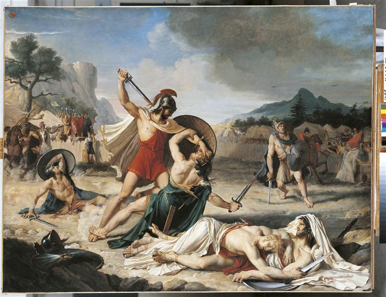 Le combat des Horaces et des Curiaces_0