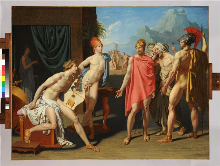 Achille recevant les ambassadeurs d'Agamemnon_0