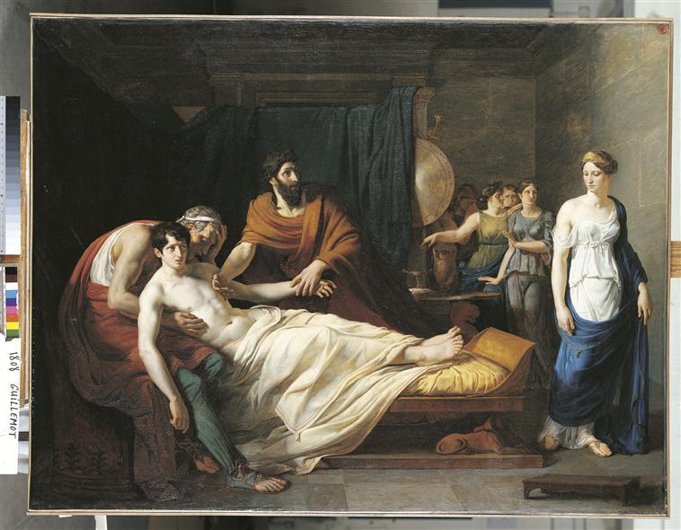 Erasistrate découvre la cause de la maladie d'Antiochus_0