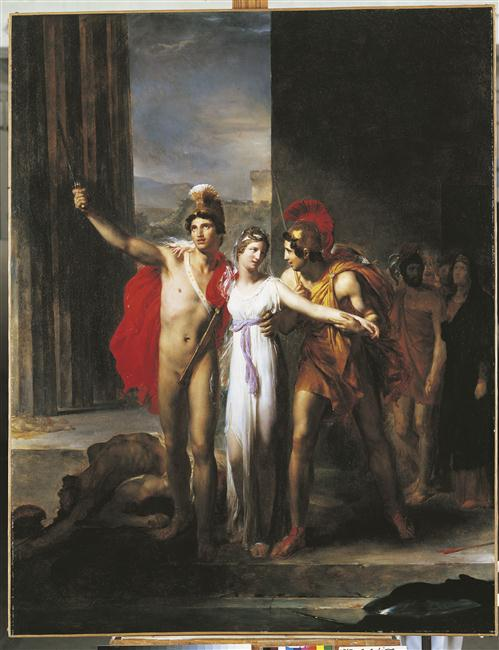 Castor et Pollux délivrant Hélène_0