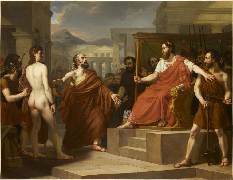Pythias et Damon chez Denys le tyran_0