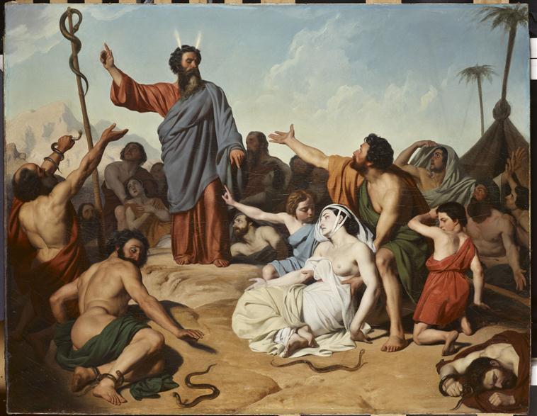 Moïse et le serpent d'airain_0