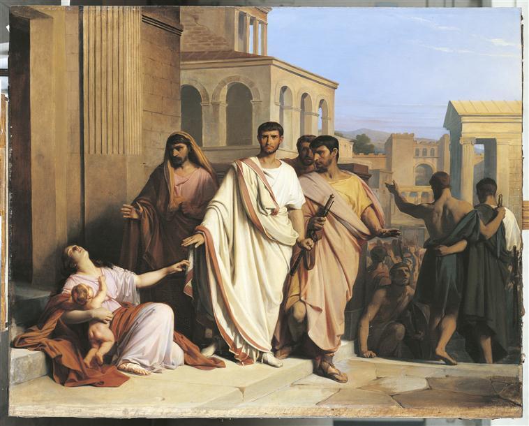 Le départ de Caïus Gracchus_0