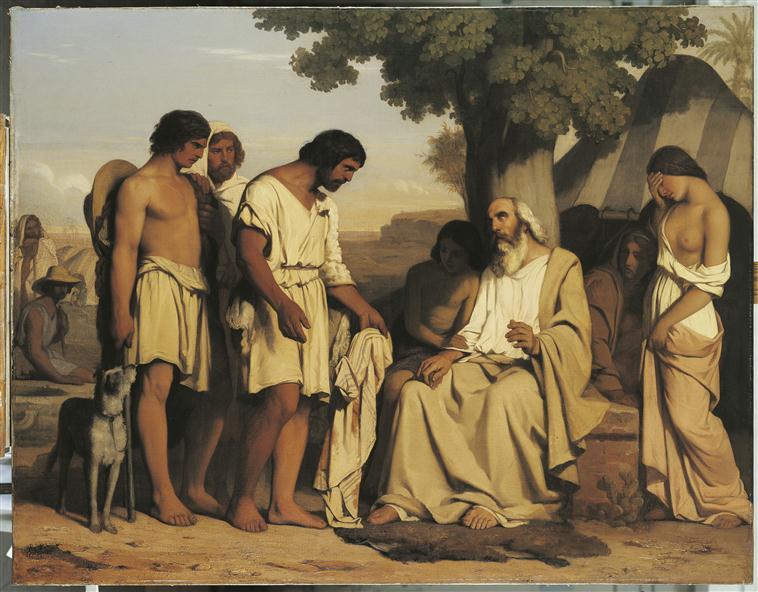 La robe de Joseph rapportée à Jacob_0