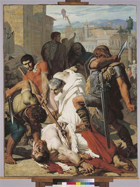 La mort de Vitellius_0