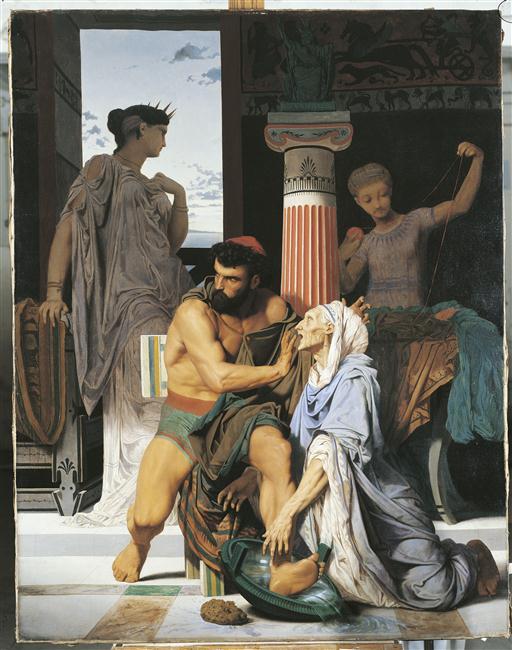Ulysse reconnu par Euryclée_0
