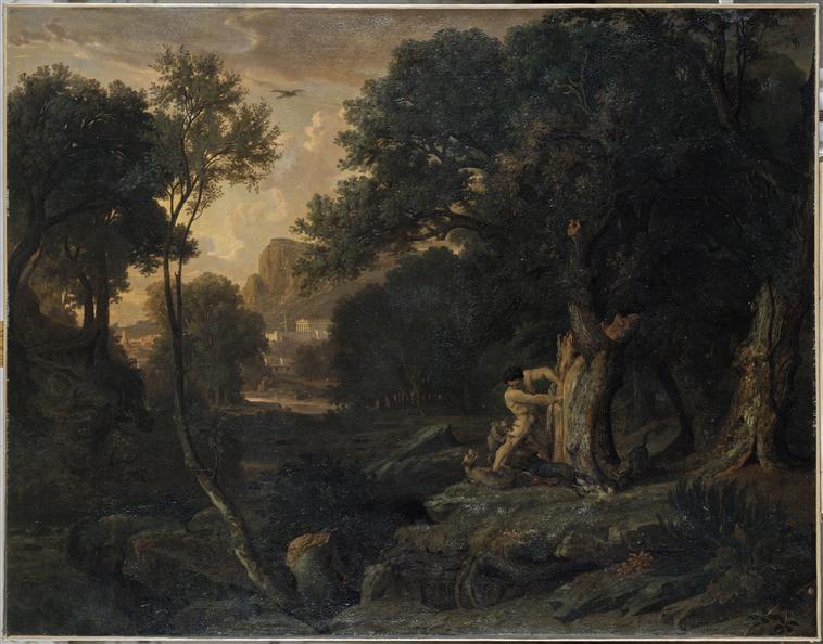 La mort de Milon de Crotone_0